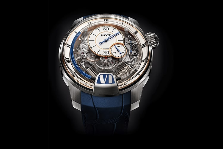 hyt new h2 tradition watch front