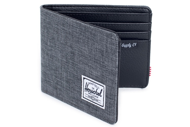 herschel supply co hank harris tweed bifold wallet