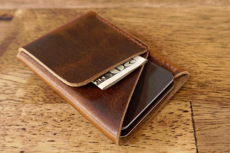inkleaf double cross wallet
