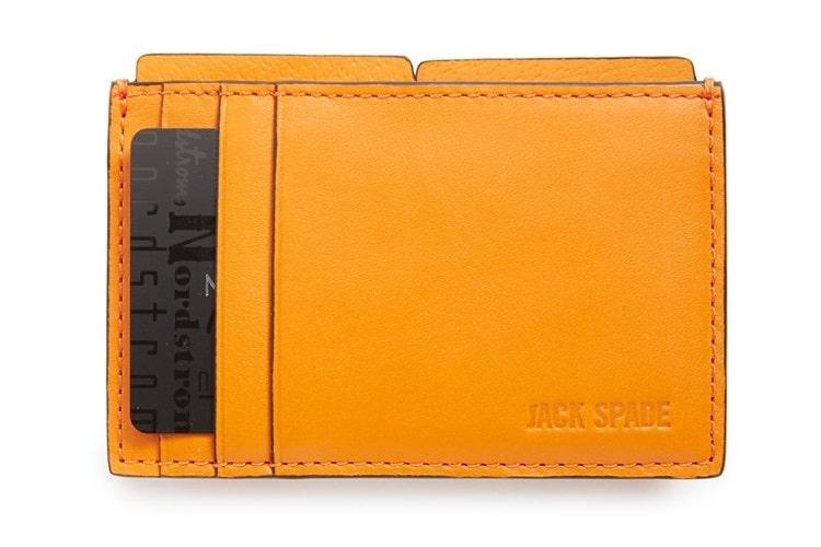 jack spade grant leather file wallet