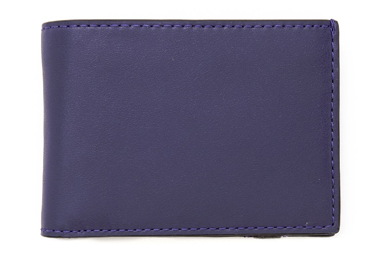 Jack Spade Bicolor Index Wallet with Elastic