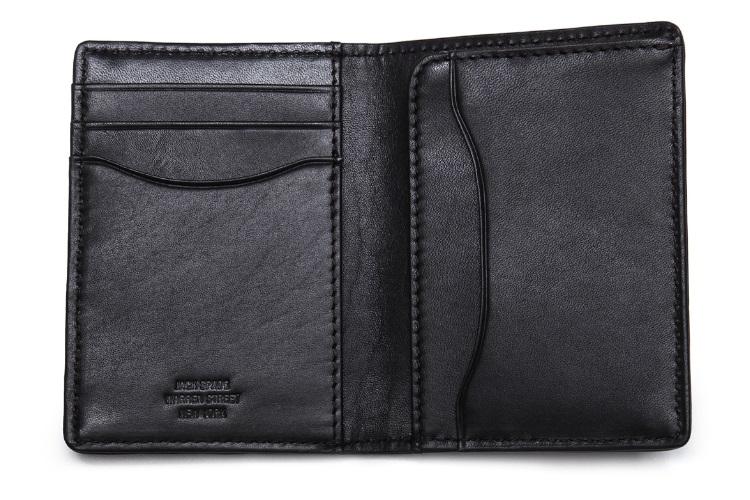 jack spade waxwear vertical wallet
