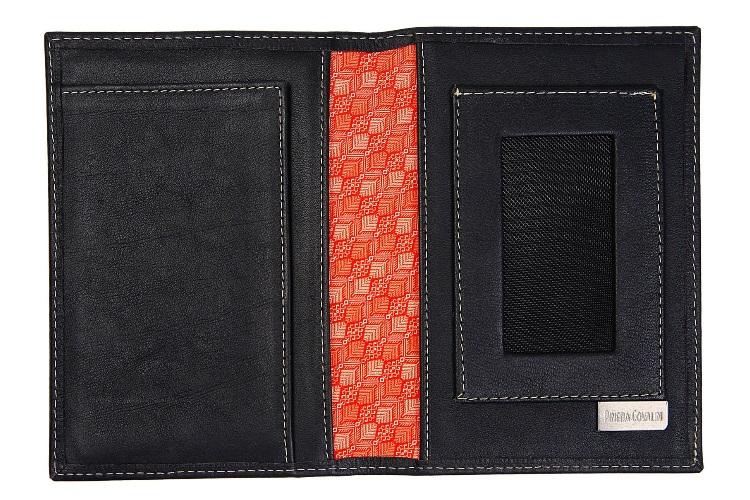 pineda covalin black passport case