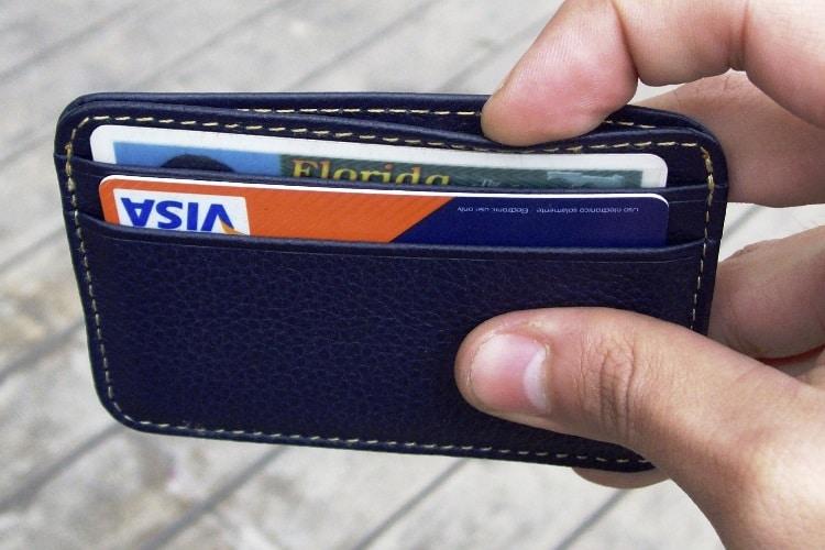 shamrock minimalist wallet