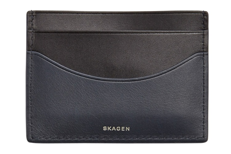 Skagen 'Torben' Leather Card Case