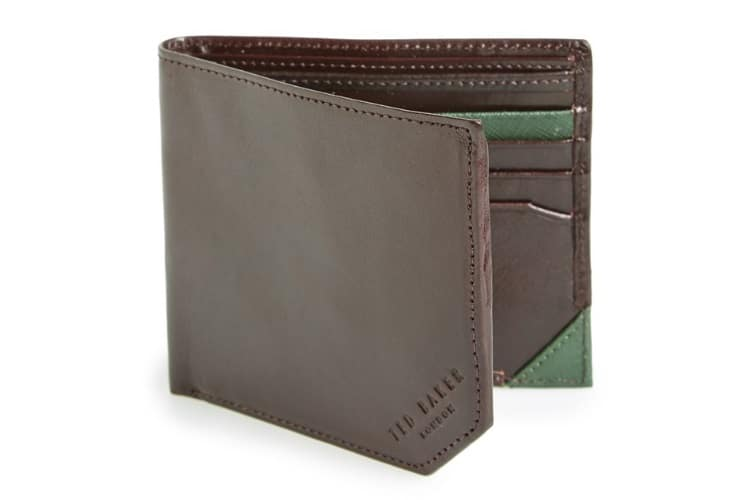 Ted Baker London Leather Bifold Wallet