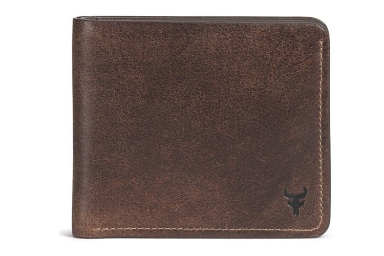 Trask 'Jackson' Slimfold Bison Leather Wallet