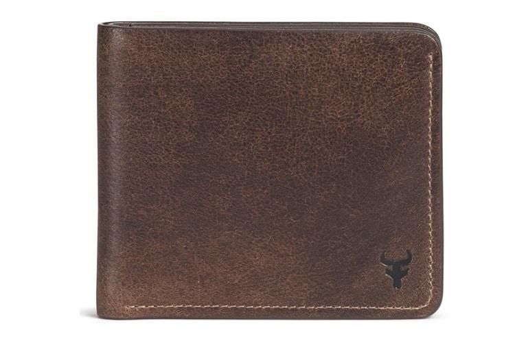 Trask 'Jackson' Slimfold Bison Leather Wallet