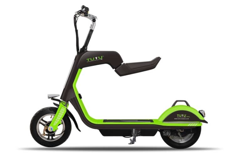 tutu sl350 electric scooter with foldable seat