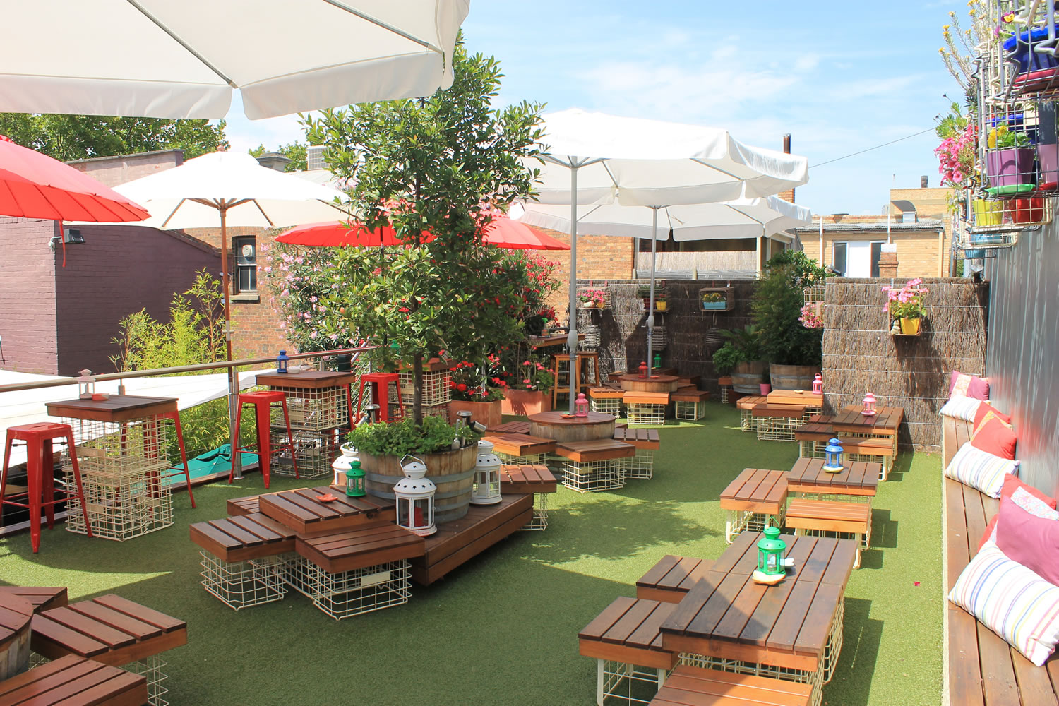 20 best rooftop bars in melbourne man of many for Pizza haus braunschweig