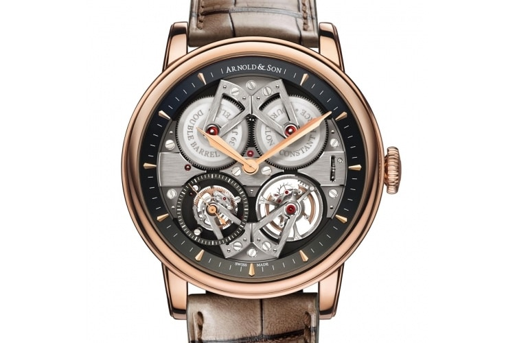 arnold and son constant force tourbillon gold