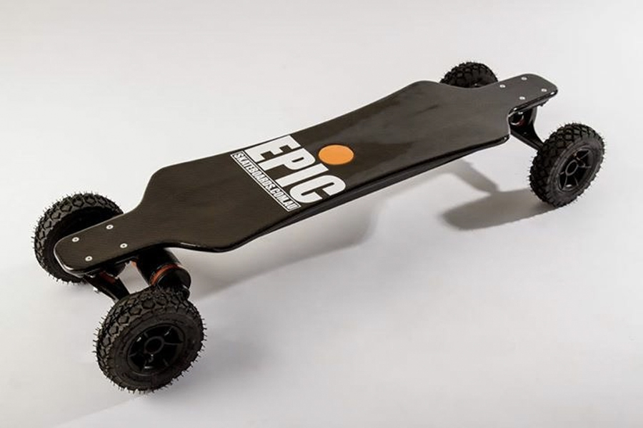 Best electric Skateboards - The Racer 3200 Carbon Dual Pro+