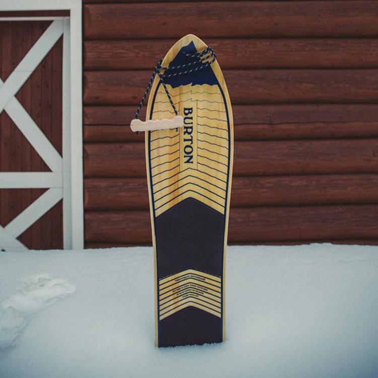 burton x snowboard design