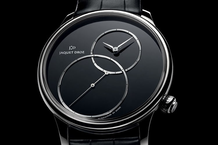 jaquet droz grande seconde off centered onyx