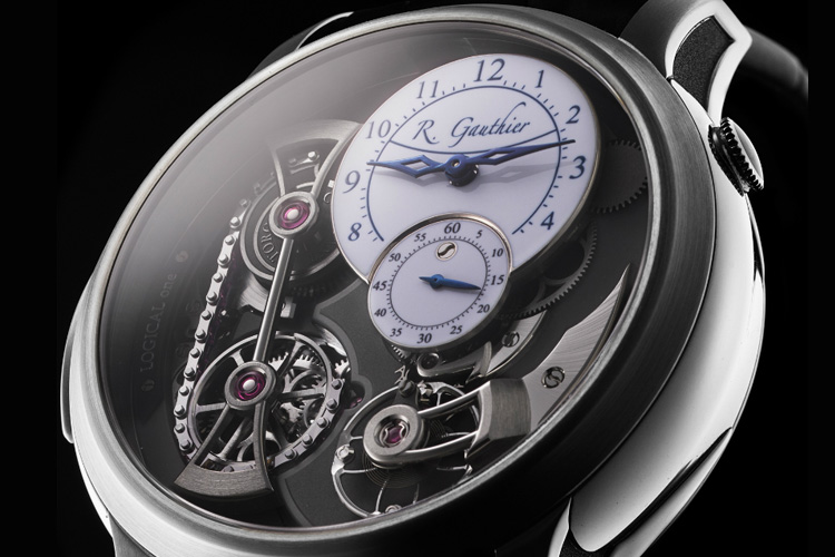 romain gauthier logical one natural titanium