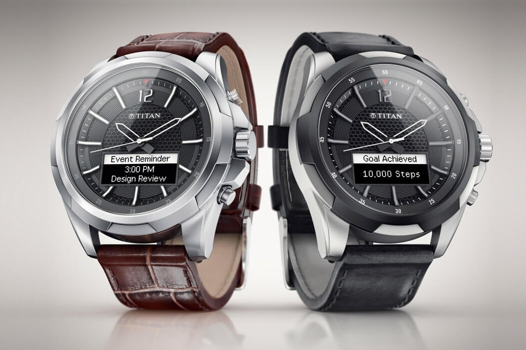 titan watch two different models