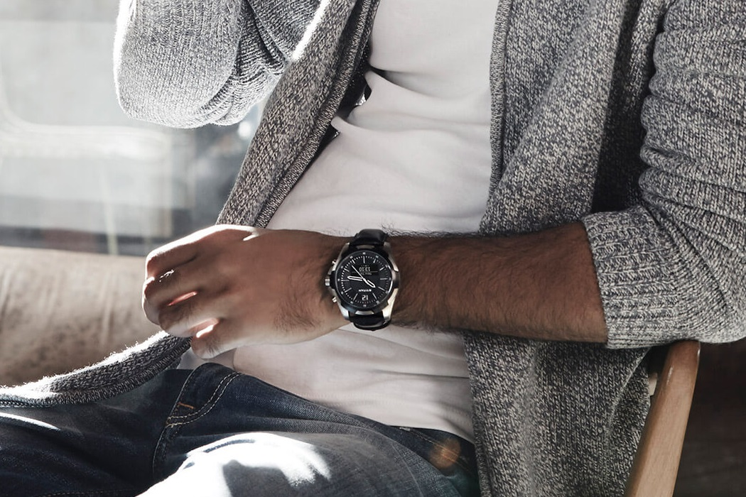 titan juxt watch lifestyle