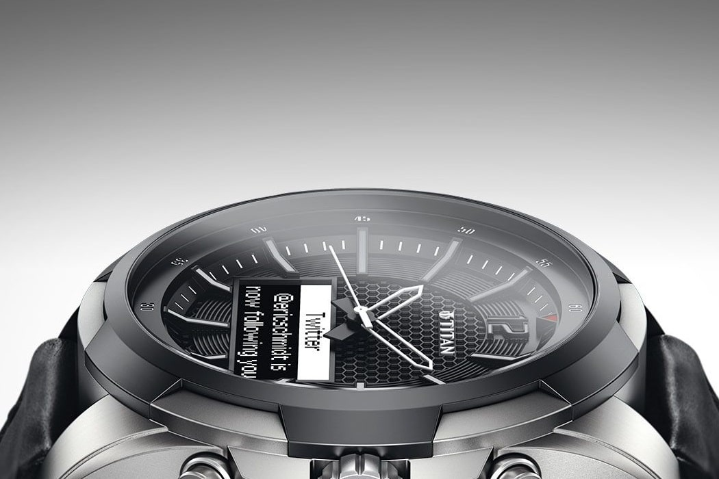 titan watch beautiful design