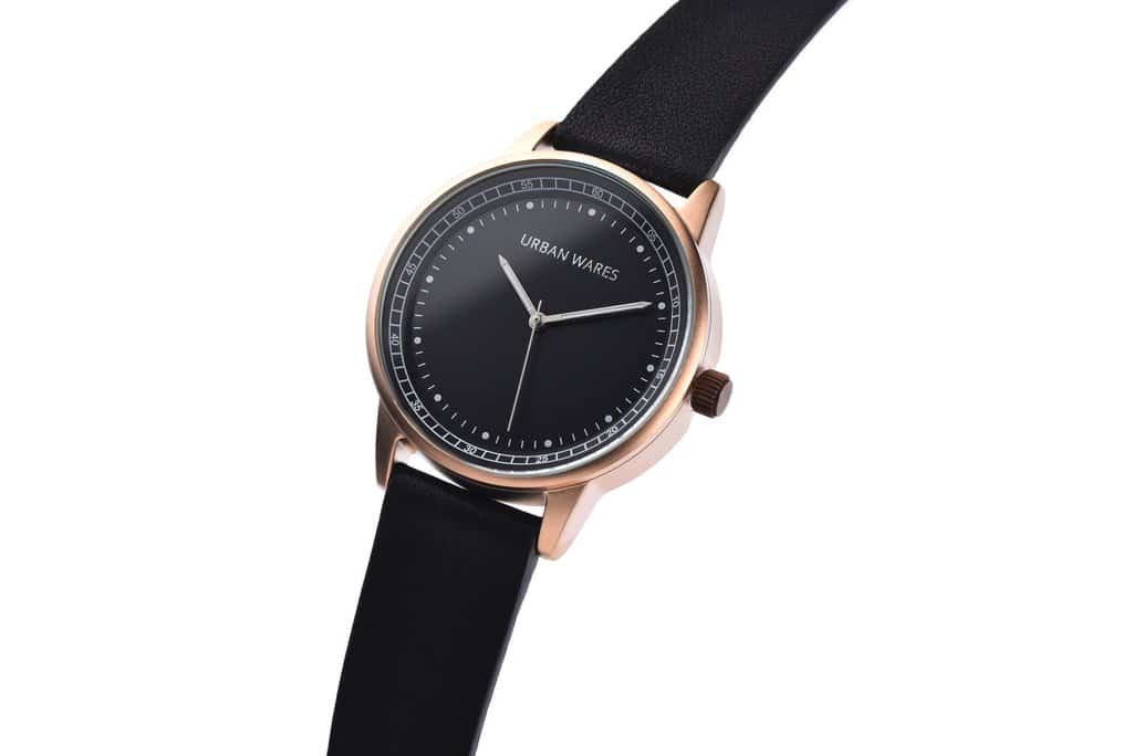 dstrct wares rose gold uw005 watch