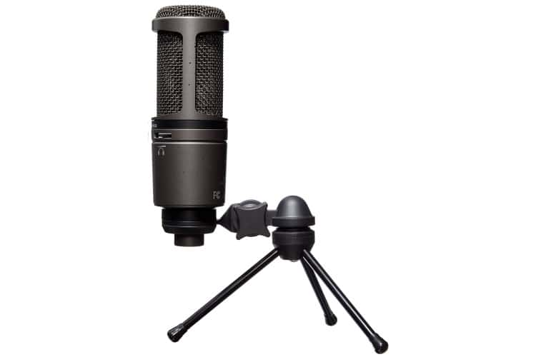 audio technica at2020 best desktop microphone