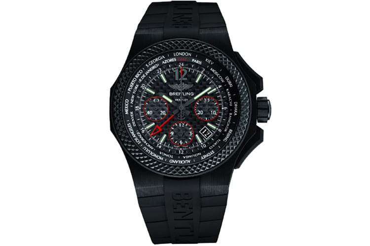 breitling for bentley gmt b04s carbon