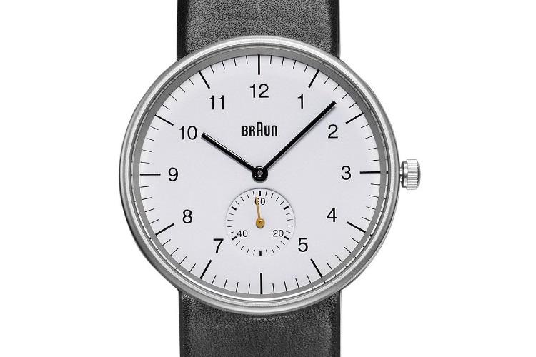 white timepiece braun men's bn0024whbkg classic analog