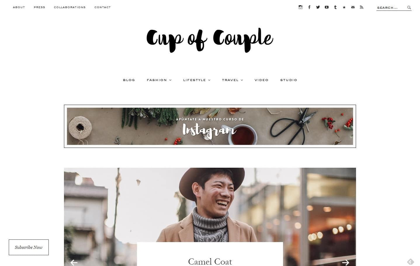 Cup of Couple fashion photography video