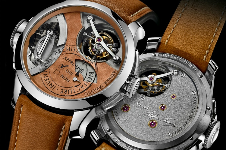 greubel forsey art piece watch mechanism