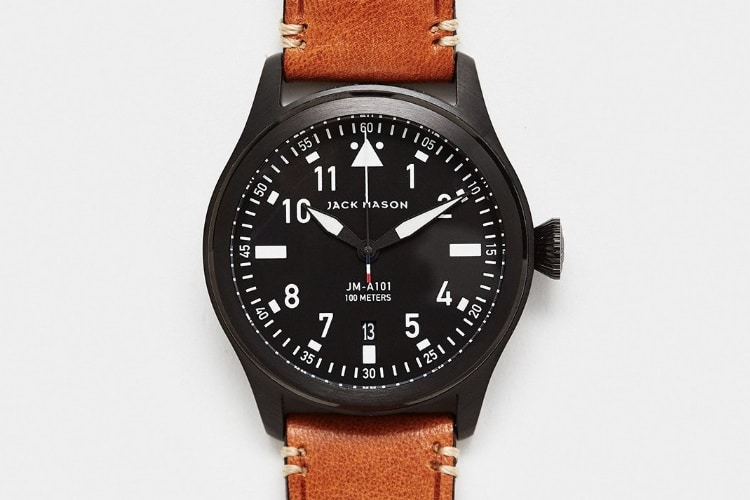 jack mason aviator watch jm a101 005