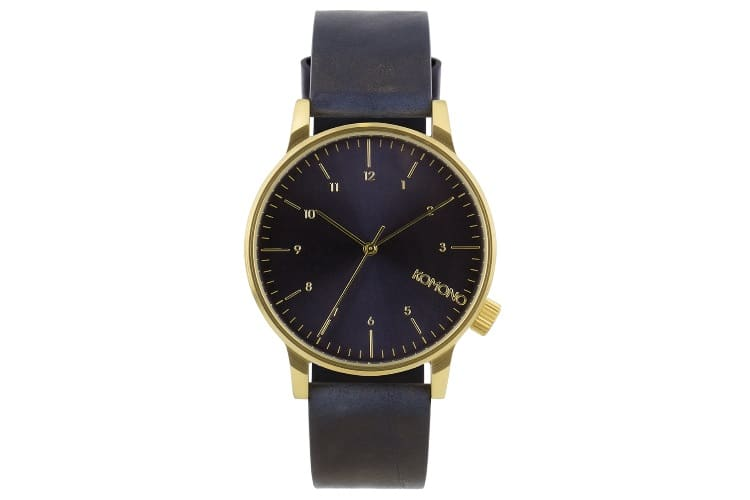 komono unisex kom w2251 winston regal series black watch