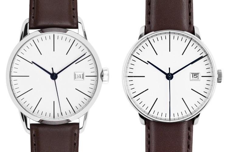 Kent Wang Bauhaus Watch v4 White