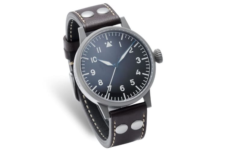 laco munster dial swiss automatic pilot watch