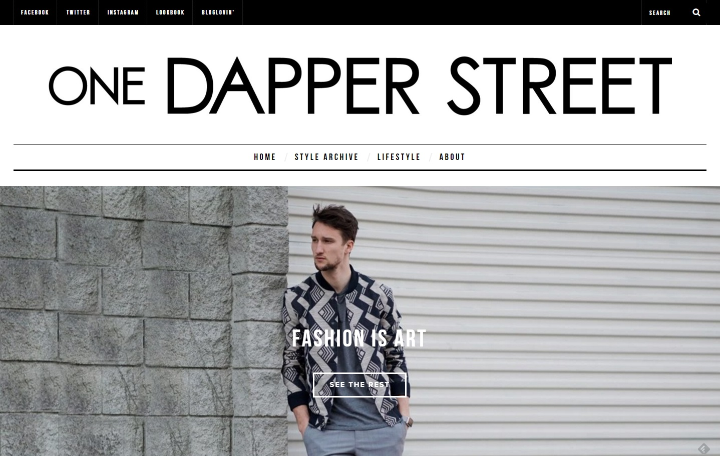one dapper street style blog