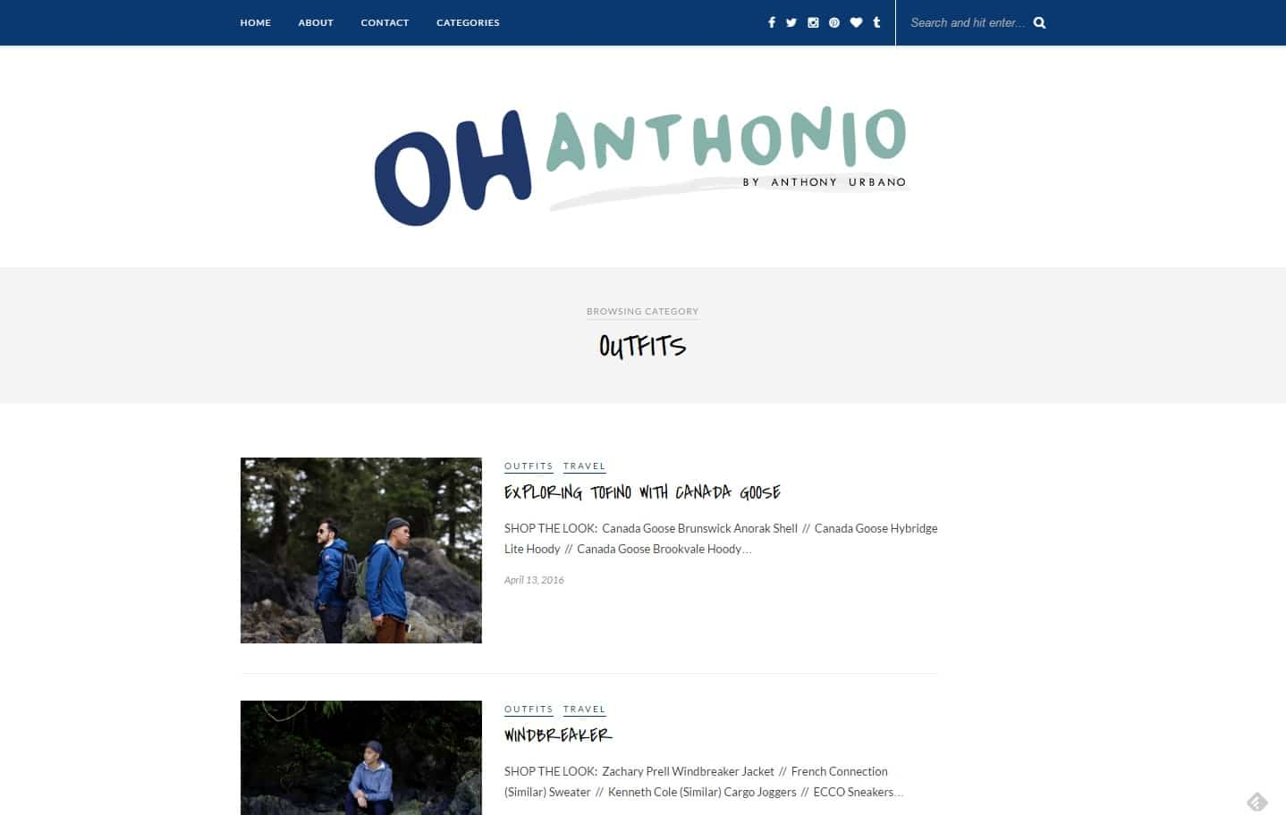 oh anthonio street style blog
