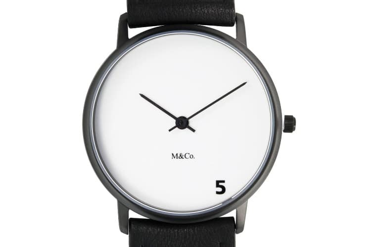 basic projects 7404 unisex 5 o'clock watch