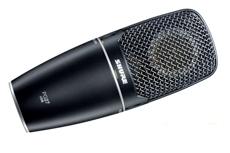 shure pg 27 best desktop microphone