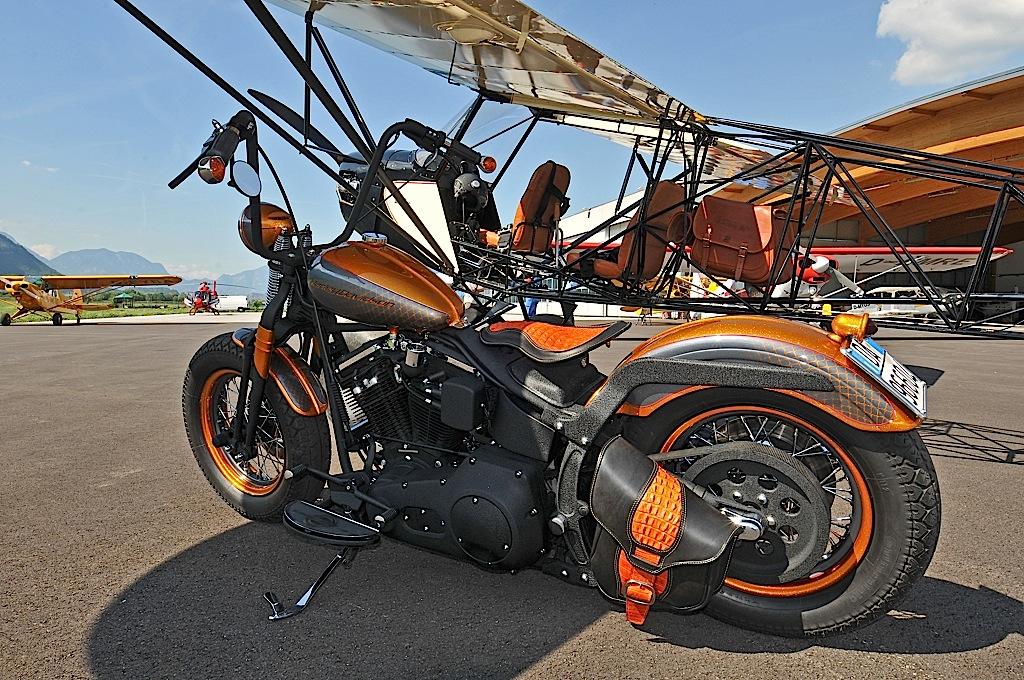 savage bobber airplane motorcycle