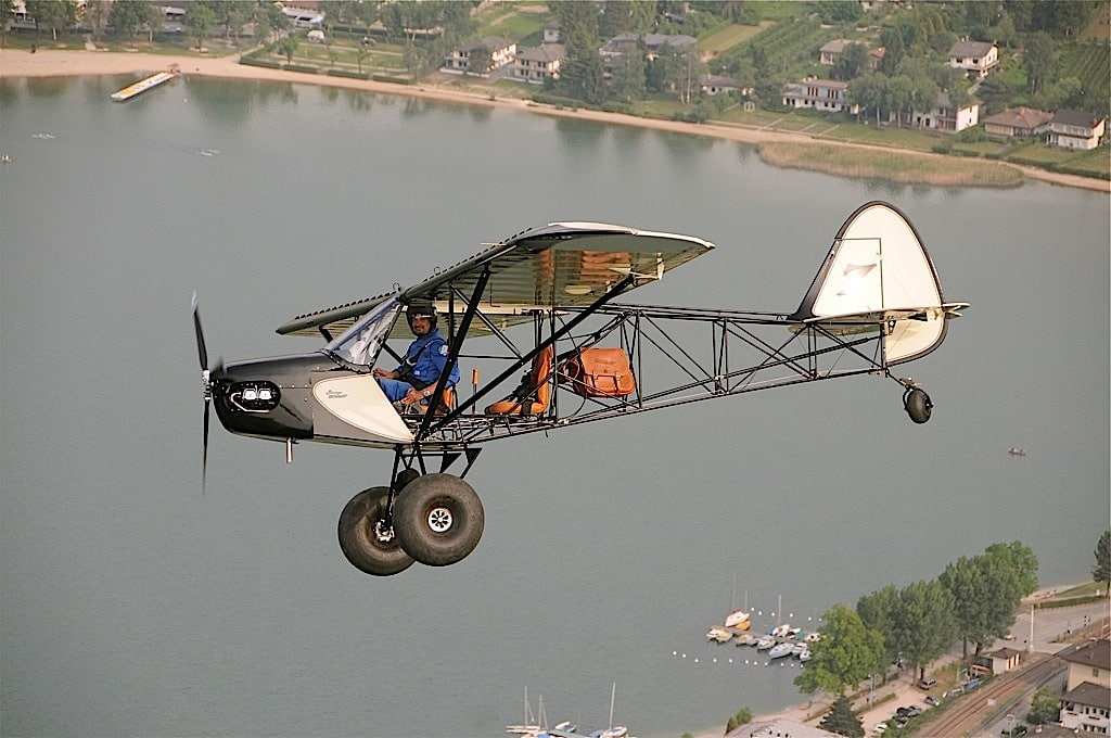 savage bobber airplane flying way