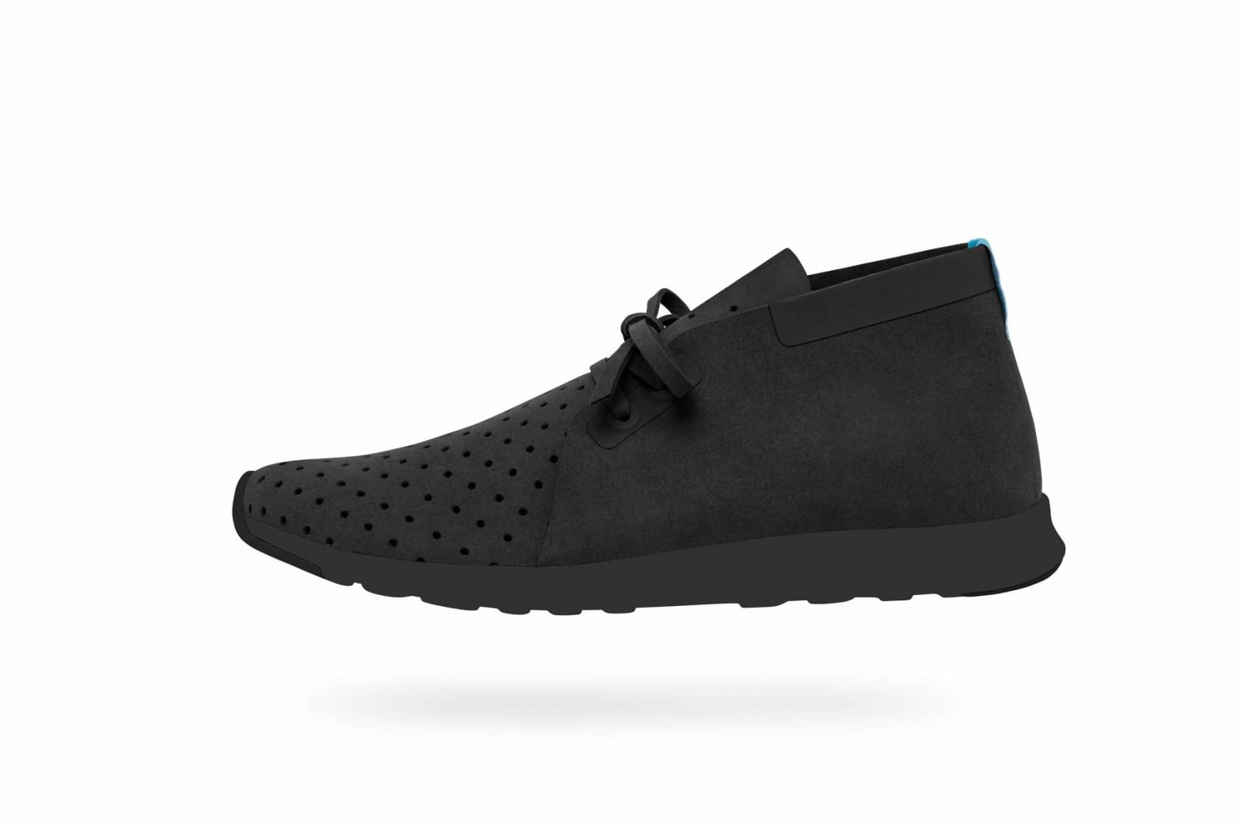 native apollo kicks shoe total black