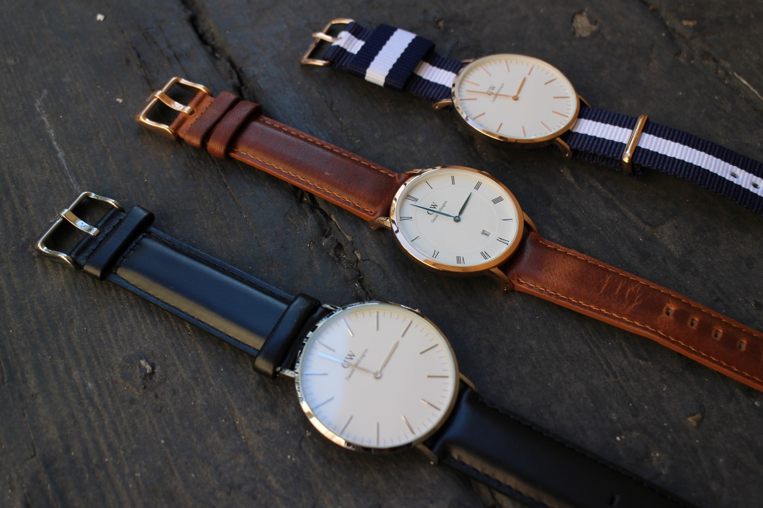 daniel wellington watch different  models