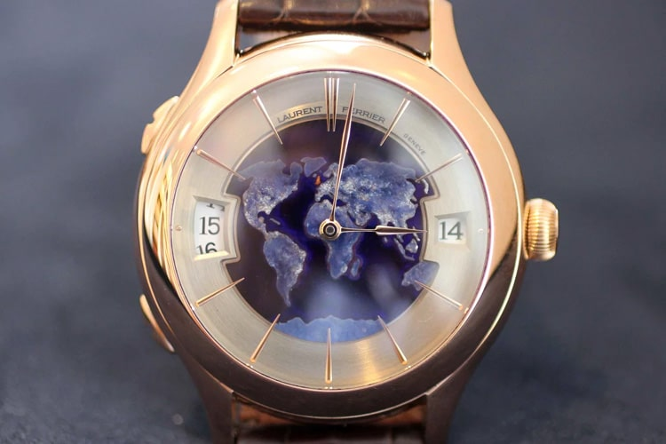 laurent ferrier galet night blue limited edition