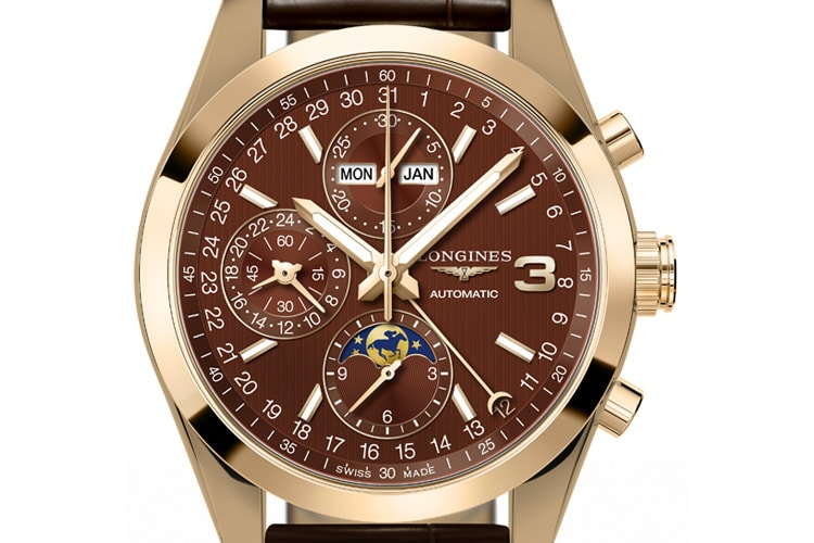 longines conquest classic triple crown limited edition