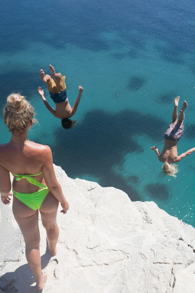 water diving