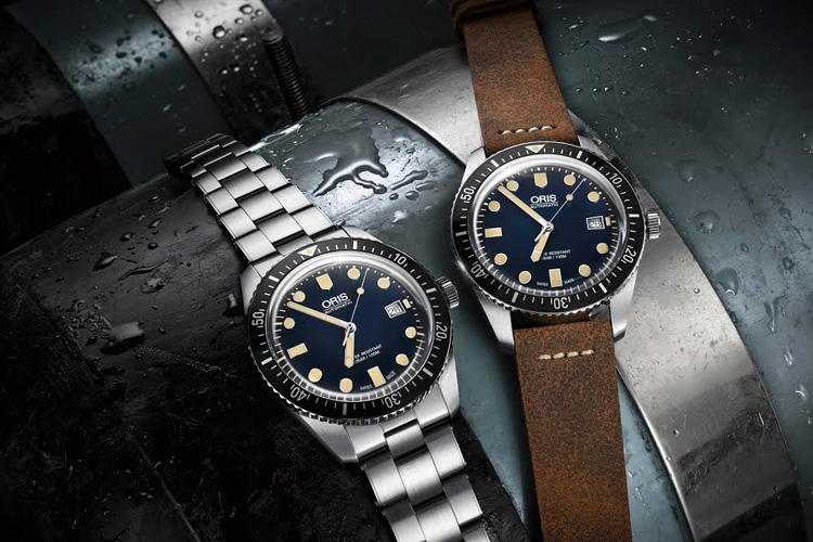 oris diver sixty five watch