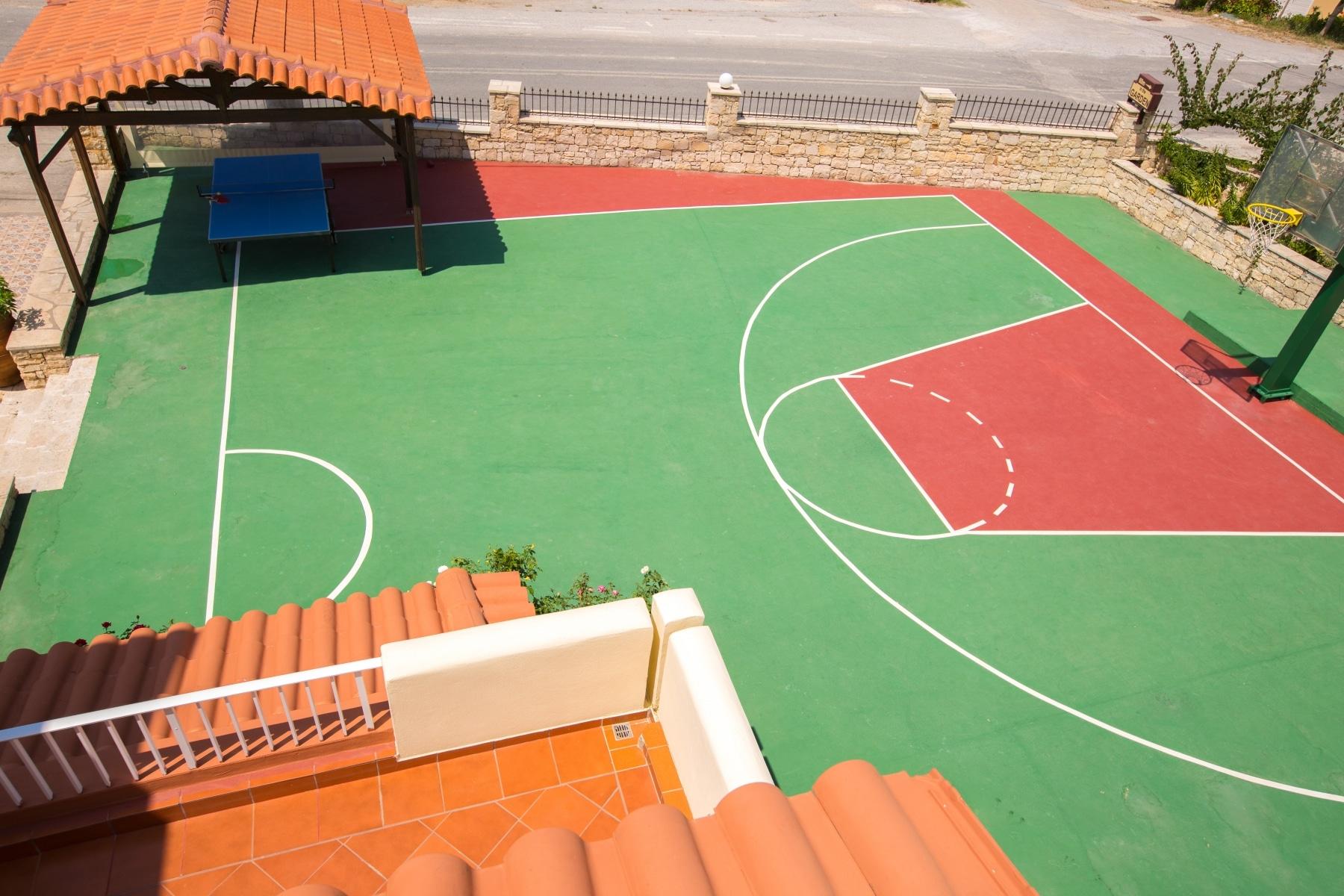 pigi greece basketball court