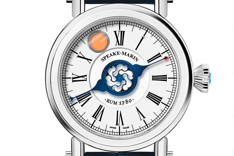 speake marin rum watch
