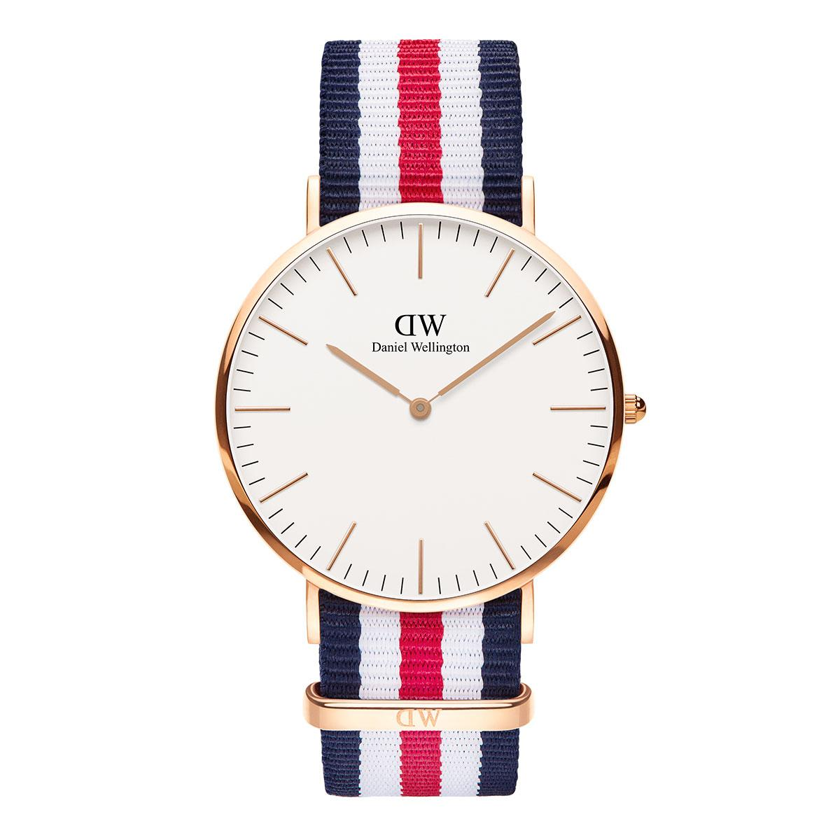 daniel wellington watch gold color