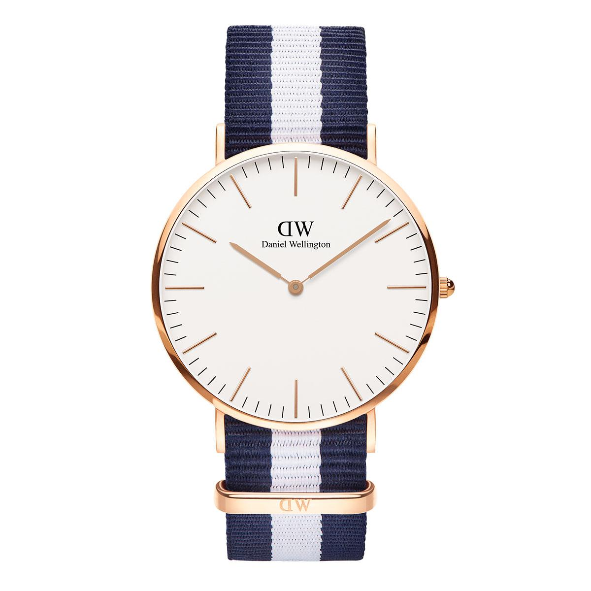 daniel wellington watch nylon strap