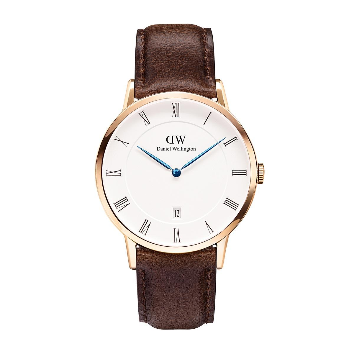 daniel wellington watch front side