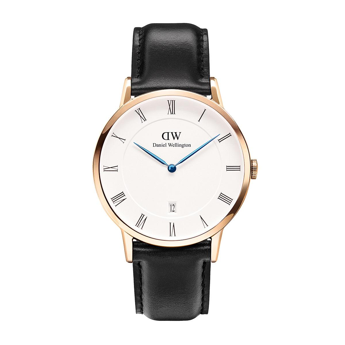 daniel wellington watch black strap